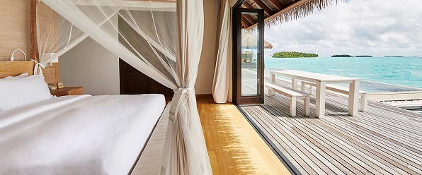 como maalifushi - water villa bedroom 0