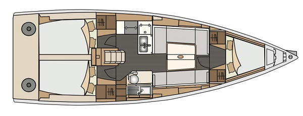 monotype sailing_yacht_charter_croatia_elan_350_3_cabins_layout_number9